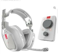 ASTRO A40TR Gaming Headset & MixAmp Pro TR Headset Amplifier - White New