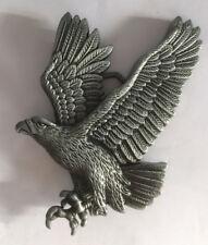 Buckle Gürtelschnalle Flying Eagle, Adler,  Heavy Metal, Biker,