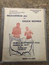 Muhammad Ali Chuck Wepner Program
