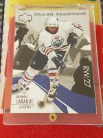 2003-04 Upper Deck Black Diamond 127 Georges Laraque Edmonton Oilers Hockey Card