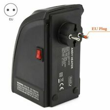 400W Mini Electric Heater Desktop  Household Fan Heater EU Plug