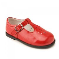 Start-Rite Bubble 2 Girls Red Patent Shoes Size 2 2.5 3 3.5 4 4.5 5 Buckle F G