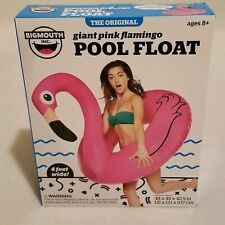 Giant Pink Flamingo Pool Float Brand New 4 Feet Wide Bigmouth Brand New