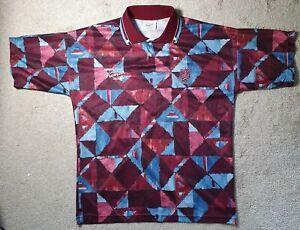West Ham United Premier Collection Shirt RARE & VINTAGE Very Good Condition