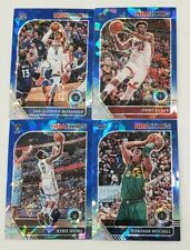 2019-20 NBA Hoops Premium Stock BLUE CRACKED ICE PRIZMS You Pick