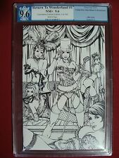Grimm Fairy Tales Return to Wonderland 1 Sketch Variant Limited to 100 PGX 9.6