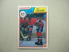 1983/84 O-PEE-CHEE NHL HOCKEY CARD #189 GUY LAFLEUR NM SHARP!! 83/84 OPC