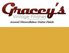 -TV Yellow- Gracey's Vintage Finishes Nitrocellulose Guitar Lacquer Aerosol.