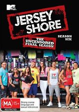 JERSEY SHORE - COMPLETE FINAL SEASON 6 Uncensored    -DVD - UK Compatible