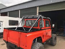 Land Rover Defender 90 truck cab roll cage - supplied and fitted