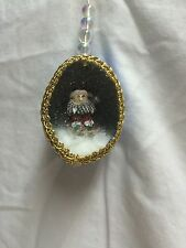 Ornament-Santa Sitting in an Egg