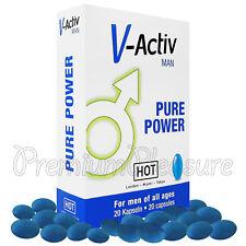 Hot V Active Uomo Guaranà Pillole Erezione Stimolante sessuale