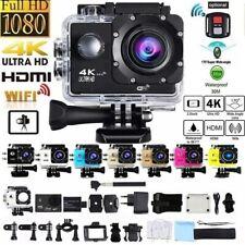 Action Cam HD 4K Digital Sport Kamera Touchscreen WiFi 20MP Dual Wasserdicht DV