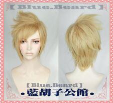 FF15 Prompto Argentum Cosplay Wig Final Fantasy XV Party Hair+Free cap No.