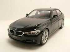 BMW 335i (F30) 2012 schwarz Modellauto 1:18 Welly
