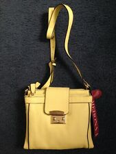 Merona Adjustable Crossbody Strap Hand Bag Women's Yellow NEW