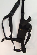"""Crossdraw shoulder holster, revolvers auto's """"Bear Country """" 357 & 44 mag"""