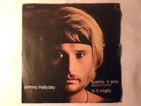 "JOHNNY HALLYDAY Quanto ti amo 7"" BRUNO LAUZI CHANTE EN ITALIEN"