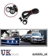 2x 12V 10W LED EAGLE EYE DAYTIME RUNNING DRL WHITE LIGHT BACKUP CAR MOTORCYCLE