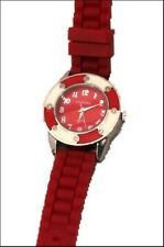 Figarro Red and White unisex watch Silicon strap