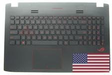 NEW Asus GL552 GL552JX Palmrest Case Cover & KB | 13NB07Z1AP0341 90NB07Z1-R31US0
