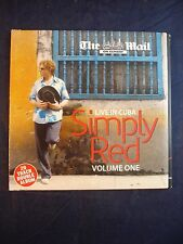 Simply Red - Live in Cuba Volume 1 - Promo CD