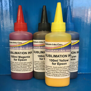 SUBLIMATION INK Epson Expression Home XP 305 312 315 322 325 402 405 412 NON OEM