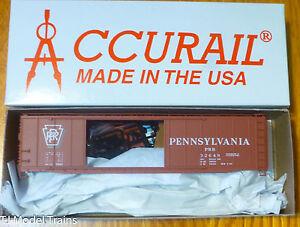 Accurail #52041 (Rd #32649) Pennsylvania (50' AAR DBL. DOOR BOXCAR) 1:87th Scale