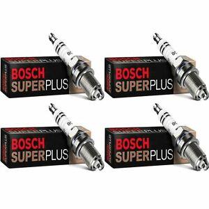 4 New Bosch Copper Core Spark Plugs For 1975-1977 RENAULT R12 L4-1.6L