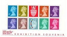 GB 2000 Stamp Show Exhibition Souvenir Matthews Palette mini miniature sheet MNH