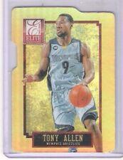 Sharp 2014 Elite Status Tony Allen Die-Cut Insert Card 1/24 Made