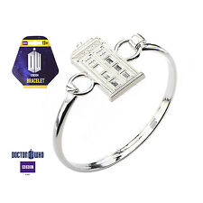 Official Doctor Who Tardis Bangle Bracelet - Free Shipping