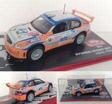 Ixo Altaya 1/43 Hyundai Accent WRC Rally Monte Carlo 2004 #71 Beres/Stary