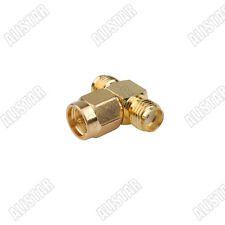 SMA Splitter//Joiner 3 Way Adapter SMA Female to 2 SMA Female convertor New Fast USA Shipping