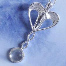Echtschmuck-Halsketten & -Anhänger mit Bergkristall-Bewusstseins