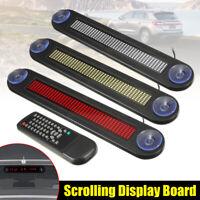 Auto LED Laufschrift Werbetafel Anzeige Fernbedienung Werbung Leuchtreklame  Q