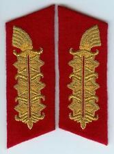 WW2 GERMAN ARMY Field marshall COLLAR TABS pair for uniform