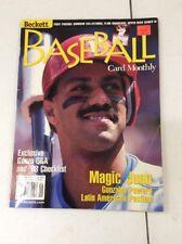 Beckett Baseball Card Monthly magazine Price Guide Juan Gonzales September 1998