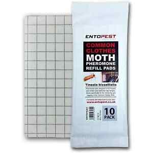 Entopest Professional Common Clothes Moth Pheromone Control Glue Trap Boards