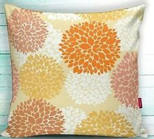 "2 Piece 18""x18"" Decorative Pillow Case- Leaves on Fall Theme -PRICE DROPPED"