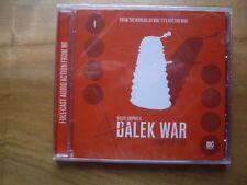 Doctor Who Dalek Empire 2.1, Dalek War, Big Finish audio book CD *SEALED*