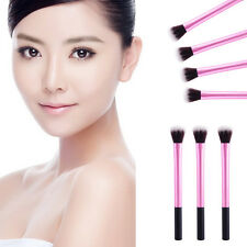 Woman Girl Round Top Makeup Brush Comestic Contour Highlight Slim Brushes Tools