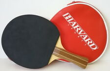 Harvard Ping Pong Table Tennis Competition Paddle & Harvard Zip Cover Bag Case