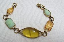 MONET Mint Green & Citrus Colors Bracelet