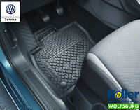 Original Volkswagen Gummimatten 4er Satz Touran 2 MQB Allwettermatten