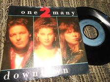 "ONE 2 MANY DOWNTOWN/WELCOME TO MY CITY 7"" 1988 A&M GERMANY"