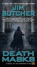Death Masks-Jim Butcher-The Dresden Files #5-large paperback-Combined shipping