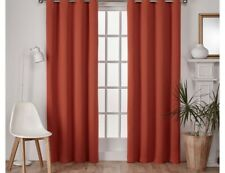 Set of 2 Exclusive Home Mecca Oragne 52� x 96� Total Blackout Panels