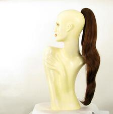Hairpiece ponytail long 27.56 dark brown copper 5/l31 peruk