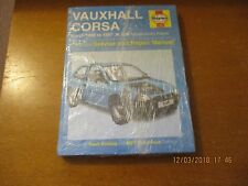 Haynes Manual: Vauxhall Corsa 1993 to 1997 K to R petrol   NEW